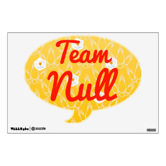Team Null Wall Decals