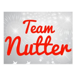 Team Nutter Postcard