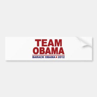 Team Obama 2012 Car Bumper Sticker