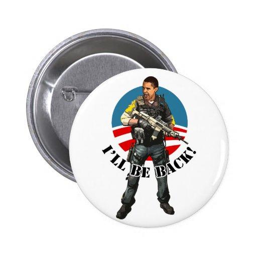 Team Obama 2012 Pinback Button