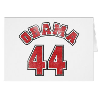 Team Obama - 44th President Greeting Card