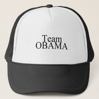 Team Obama-Black Trucker Hat