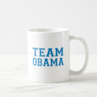 TEAM OBAMA BLUE - png Coffee Mug