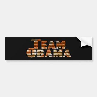 Team Obama Bumper Sticker Car Bumper Sticker