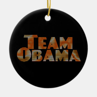 Team Obama Ornament