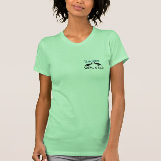 TEAM OBAMA Science is back whales small design Tees