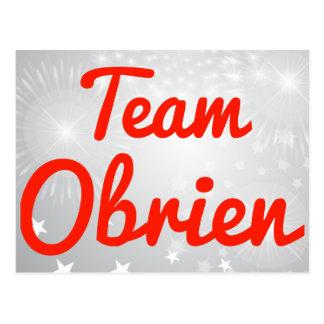 Team Obrien Postcard