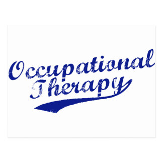 Team Occupational Therapy Postcard