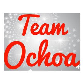 Team Ochoa Postcards