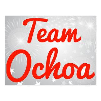Team Ochoa Post Card