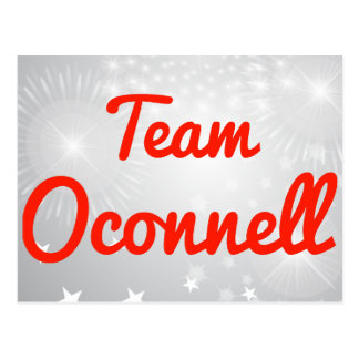 Team Oconnell Postcard