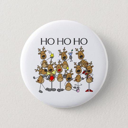 Team of Reindeer Button