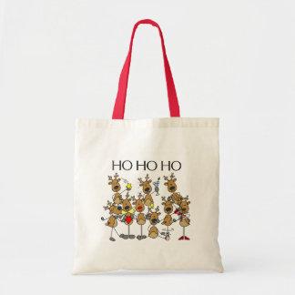 Team of Reindeer Canvas Bag