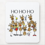 Team of Reindeer Mouse Pads