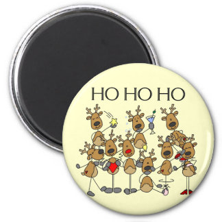 Team of Reindeer Tshirts and Gifts Magnet
