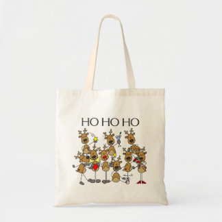 Team of Reindeer Tshirts and Gifts Tote Bag