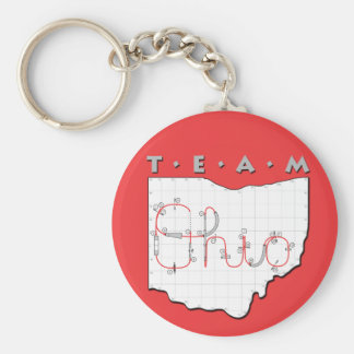 Team Ohio Agility Keychain