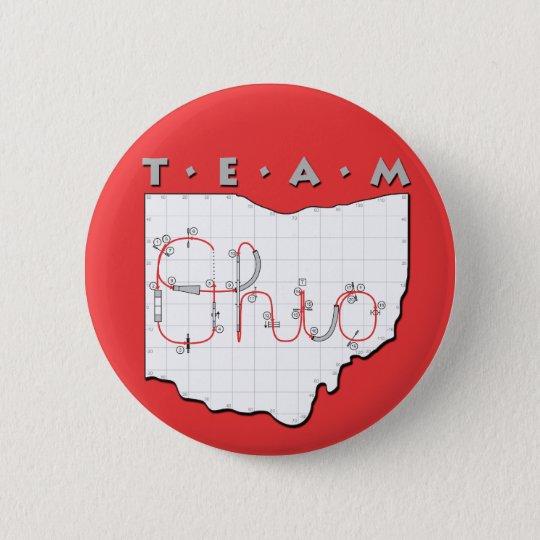 Team Ohio Agility Pinback Button