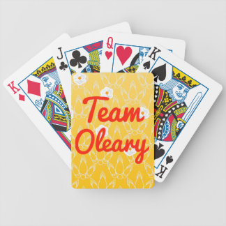 Team Oleary Bicycle Playing Cards