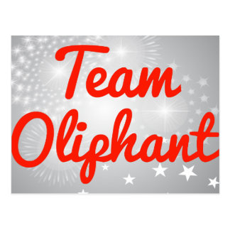 Team Oliphant Post Cards