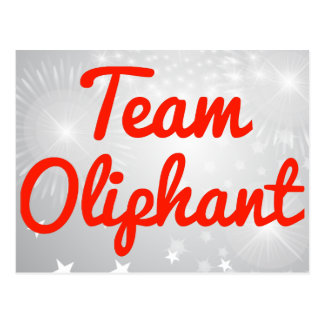 Team Oliphant Post Card