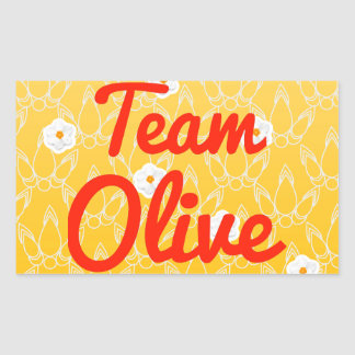 Team Olive Stickers