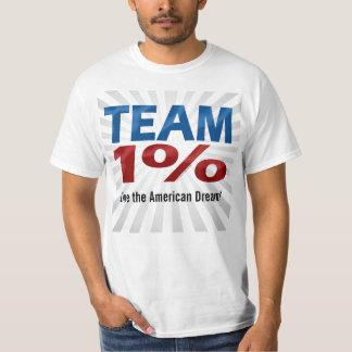 Team One Percent, Anti-Occupy Wall Street T-Shirt