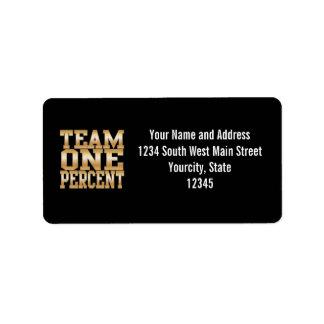 Team One Percent, Get Rich Label