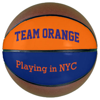 Team Orange -playing in NYC Basketball