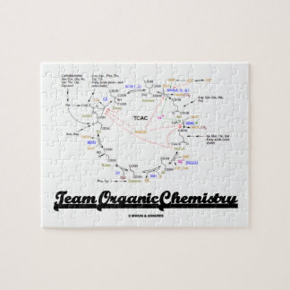 Team Organic Chemistry (Krebs Cycle TCAC) Jigsaw Puzzle