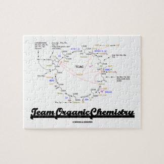Team Organic Chemistry (Krebs Cycle TCAC) Jigsaw Puzzle
