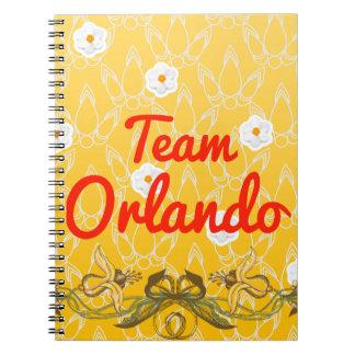 Team Orlando Spiral Notebook