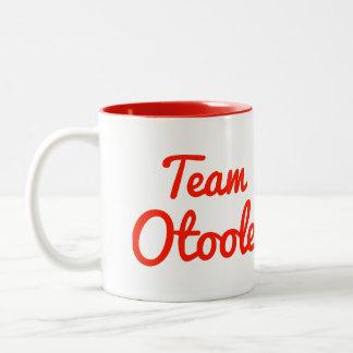 Team Otoole Two-Tone Coffee Mug