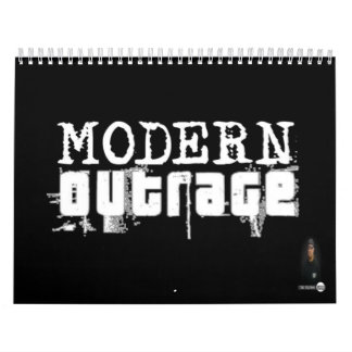 team outrage/ mosco/ modern outrage calendar/shop calendar
