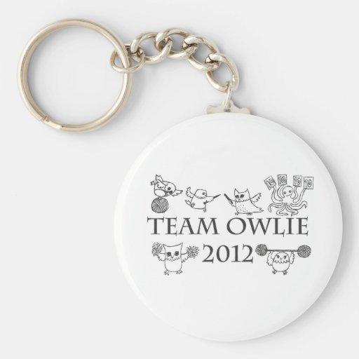 Team-owlie-2012 Llavero