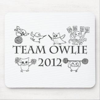 Team-owlie-2012 Mouse Pad