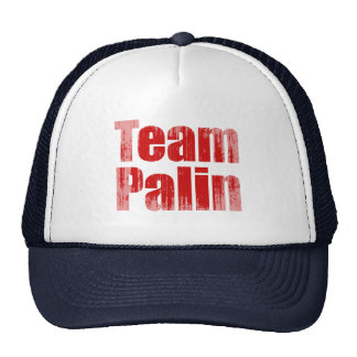 Team Palin 1 Faded.png Trucker Hat