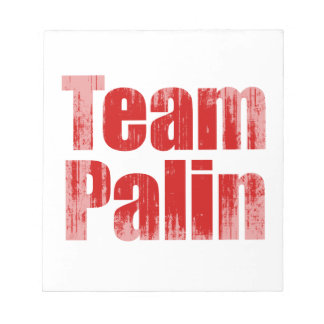 Team Palin 1 Faded.png Memo Note Pads