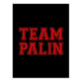 Team Palin Collegiate 1 Postcard