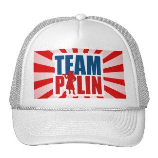 TEAM PALIN TRUCKER HAT