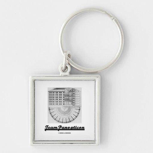 Team Panopticon (Architecture Jeremy Bentham) Keychains