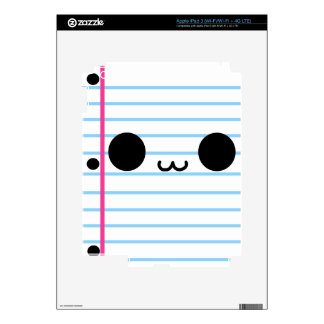 Team Paper Decal For iPad 3