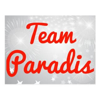 Team Paradis Postcard