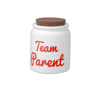 Team Parent Candy Dishes