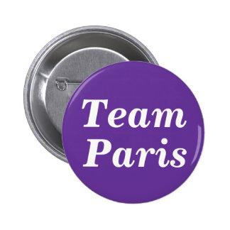 Team Paris Badge Pinback Button