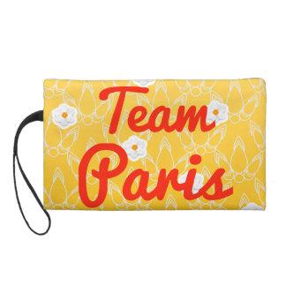 Team Paris Wristlet