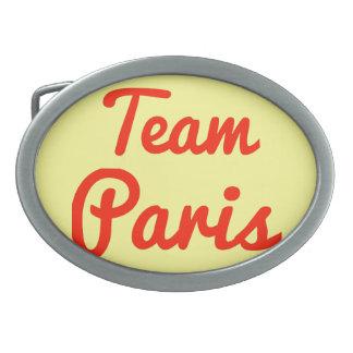 Team Paris Belt Buckle