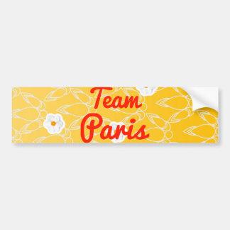 Team Paris Bumper Stickers