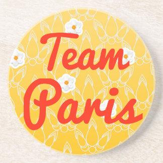 Team Paris Beverage Coasters