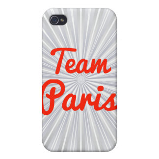 Team Paris iPhone 4 Covers